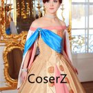Custom Princess Anastasia Cosplay Costume,Anastasia Dress Plus Size