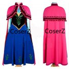 Anna Costume Cosplay Anna Costume For Adults With Cloak