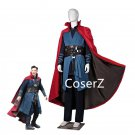 Movie Doctor Strange Stephen Cosplay Costume,Dr. Strange Costume With Cloak Uniform Xmas Gift