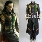 Custom Thor The Dark World Loki Costume Halloween Costume Full Set For Adult