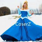 Custom Sleeping Beauty Cosplay Costume Aurora Dress,Aurora Costume for Adults