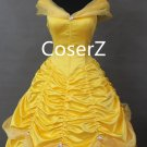Beauty And The Beast Cosplay Costume,Princess Belle Dress,Belle Costume For Girls