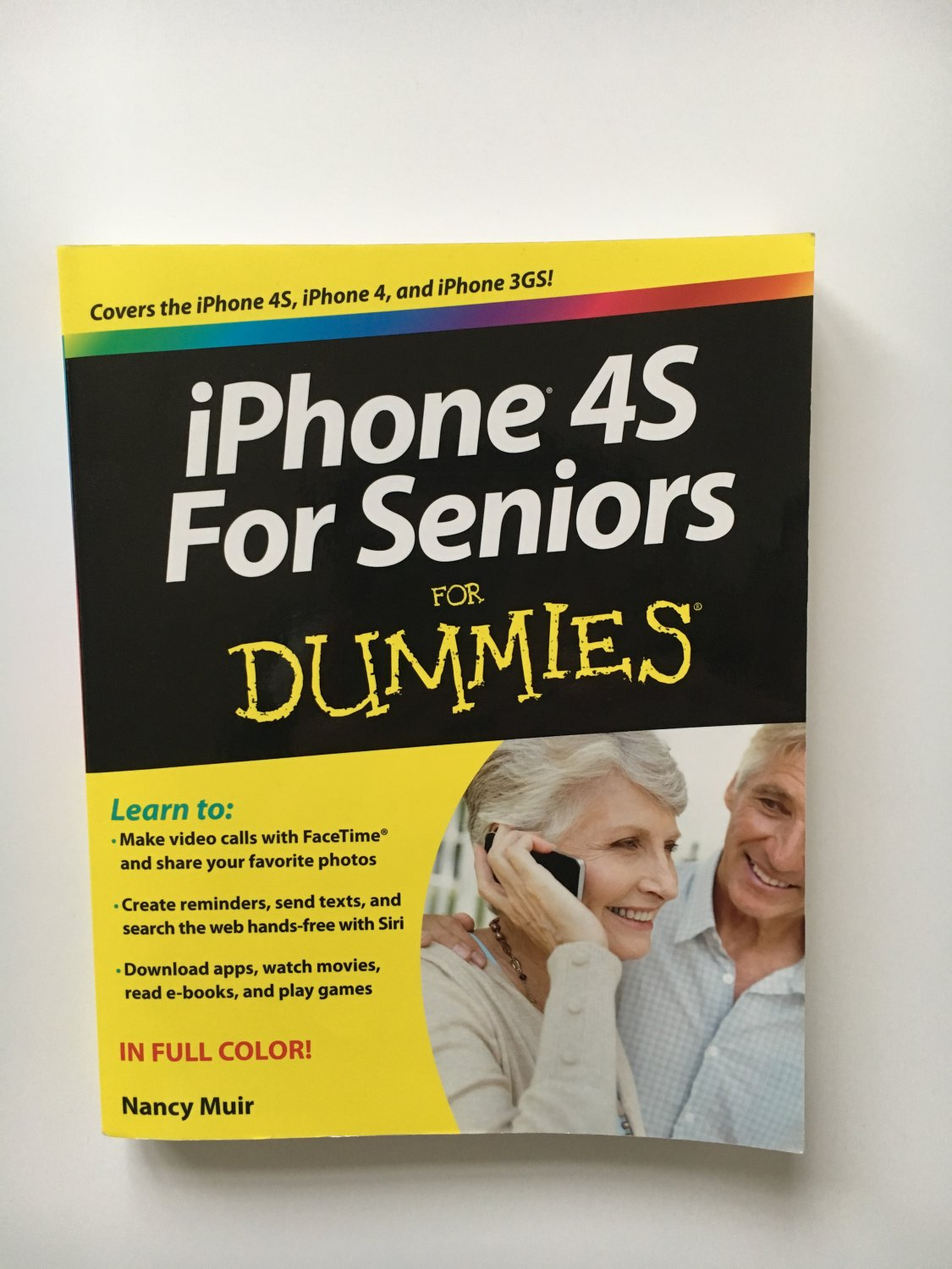 iPhone 4S For Seniors For Dummies, On Sale