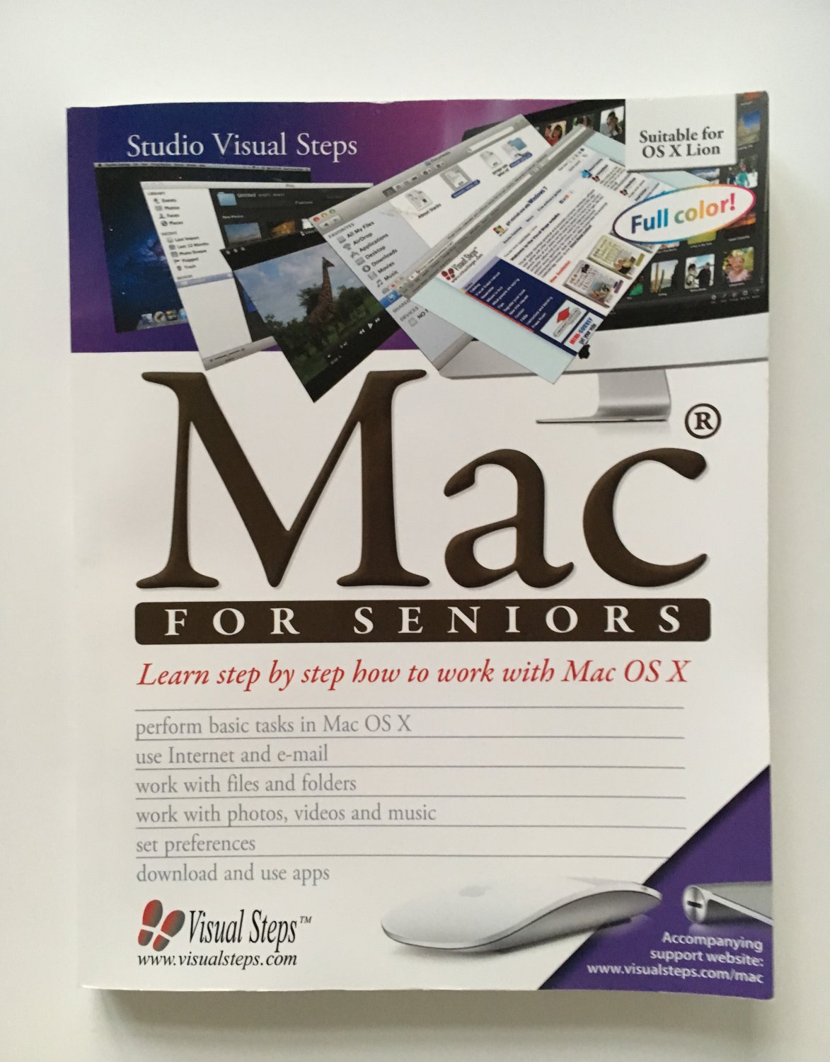 Mac for Seniors (Computer Books for Seniors series), On Sale