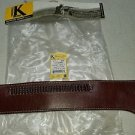 "TRIPLE K HAND  LINED WESTERN DROP BELT-FACTORY NEW SIZE L (38""-43"") .22lr CAL"