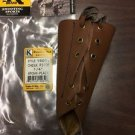 "Triple K #15031 1/4"" rise  Leather / Cheek Piece / Cheek Pad New in Bag"