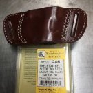 Triple K 246 Belt Slide Holster for Walther PP/PPK/PPKs