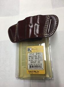 Triple K #246 Belt Slide Holster for RUGER P-93, P-94, P-95, P-944