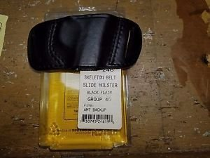 Triple K Belt Slide Holster for AMT Back up .380