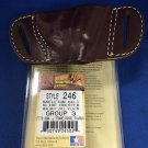 Triple K #246 Belt Slide Holster for S&W J FRAME