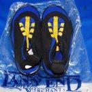 New Lands End Kids Slip on Aqua Socks Pool Beach Water Shoe  NEW SIZE 2 KIDS
