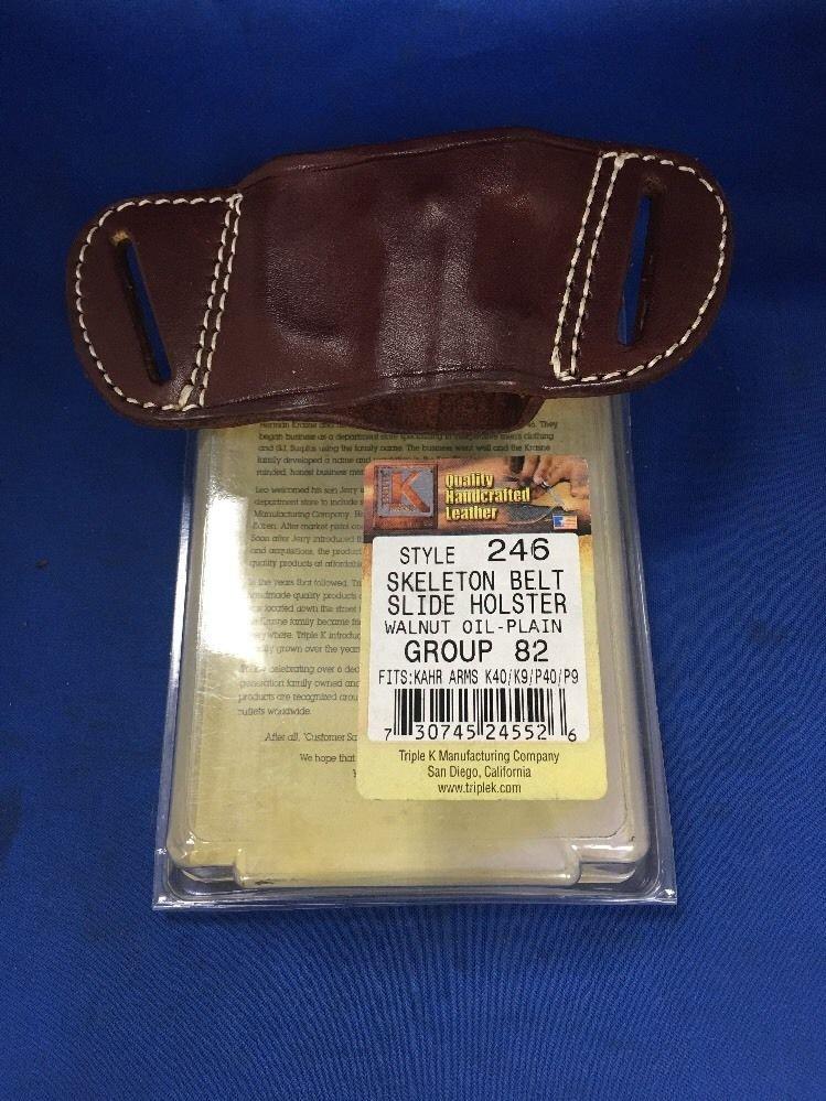 Triple K #246 Belt Slide Holster for KAHR K40/K9/P40/P9