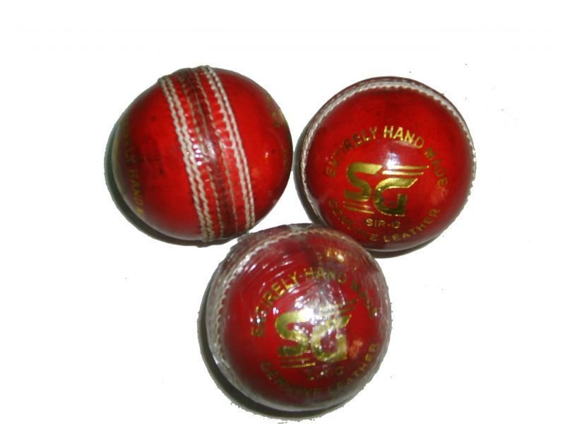 SIR- G 3 qty Leather Cricket Balls hand made balls made in INDIA