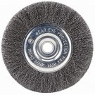 "SIR-G 6"" STEEL WIRE WHEEL BRUSHES FOR BENCH GRINDER"