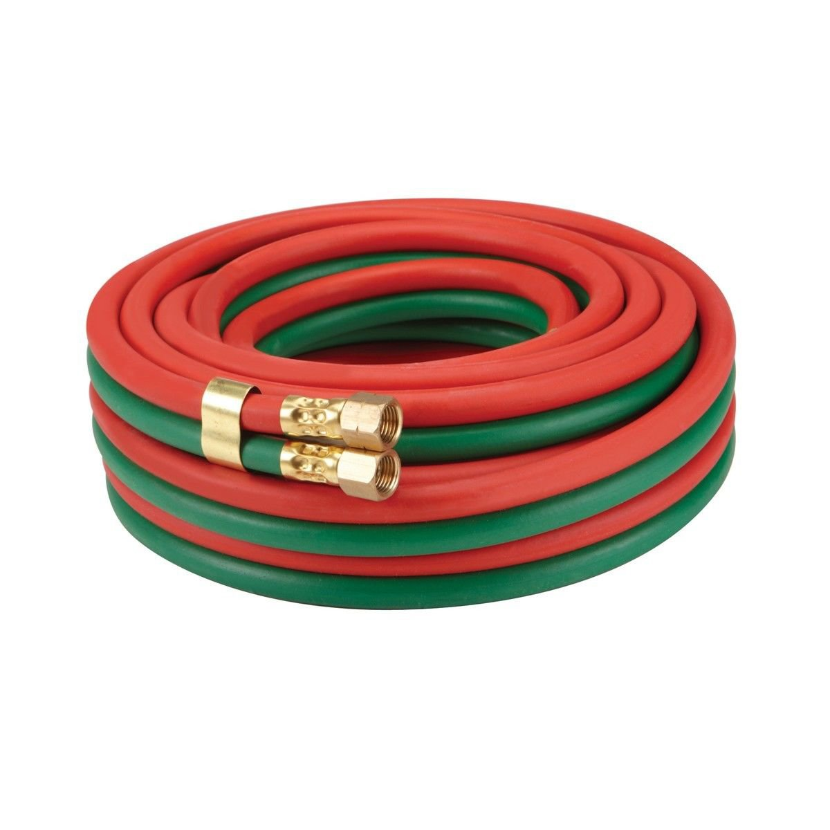Oxygen/Acetylene Quality Welding Hose, 15 foot, 1/4 Inch, GRADE T - All Fuels