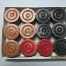 New Wooden Carrom Men Carrom Coins Carrom Board Accessories + Free Shipping