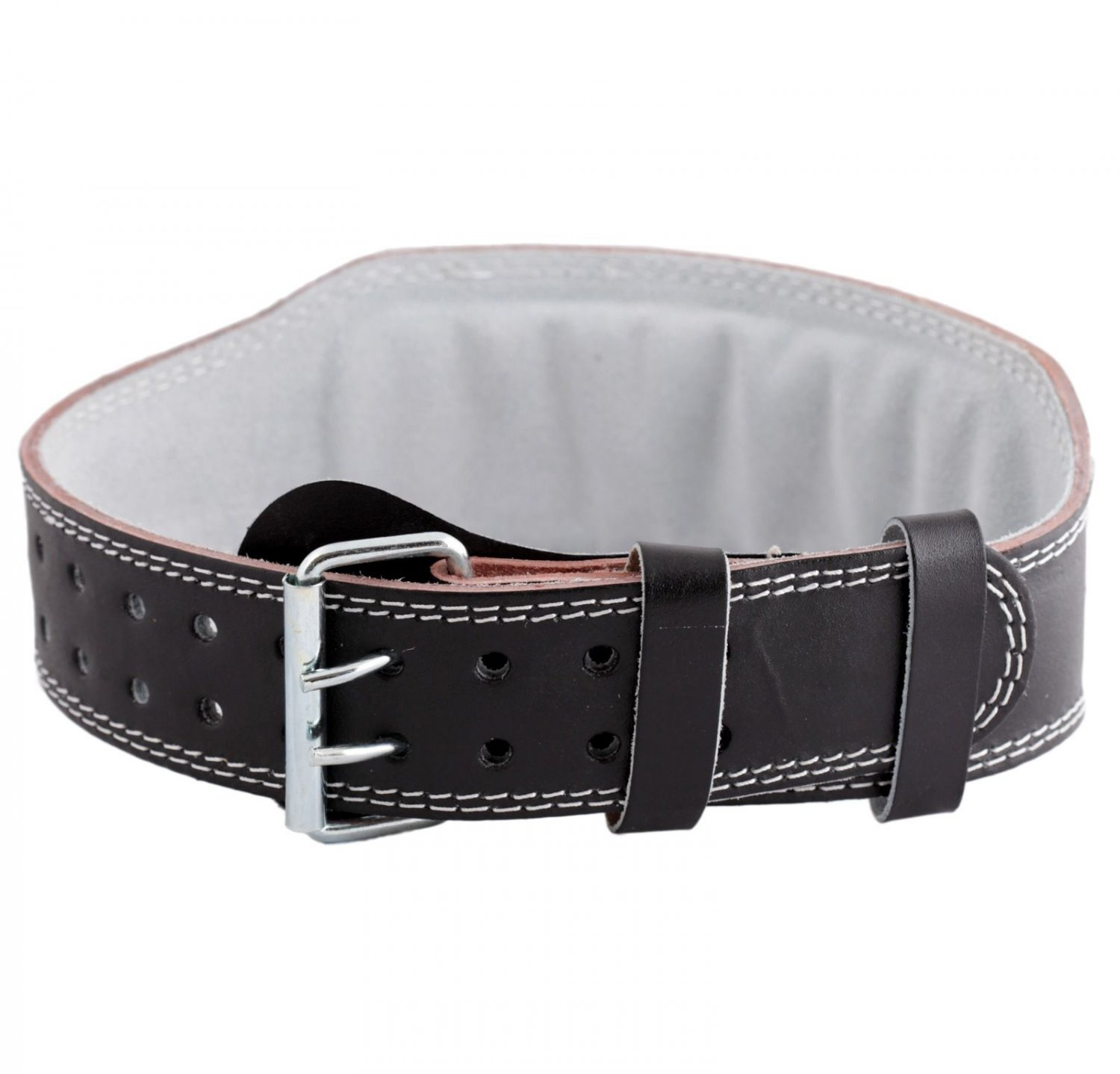 SIR-G Weight Power Lifting Leather Belt Gym Training Powerlifting Straps
