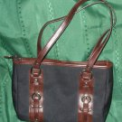 "purse QUAD BELT Cherokee 14"" bag TWO 24"" straps SPACIOUS CLEAN bag"