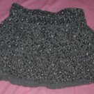 animal print skirt bottom cotton poly GARANIMAL size 4t gray black elastic waist