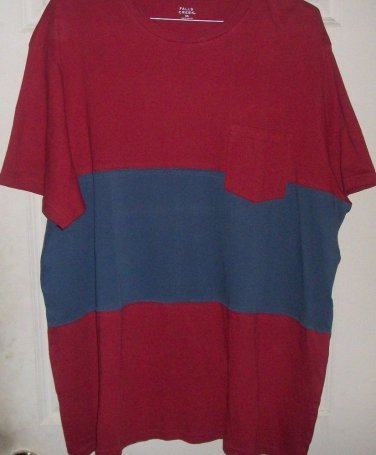 TOPS BLOUSES PLUS New FALLS CREEK pocket shirt XXXL mens soft cotton tee top