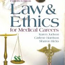textbook LAW & ETHICS for MEDICAL CAREERS 4th EDITION HIGHER Education