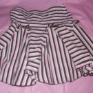 "skirt bottom pink brown ONE KIDS 5yr stripe elastic height 42-45"" weight 42-46lb"