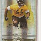 Lamarr Woodley /200 NFL Steeler Raider Donruss gold Auto rookie football card