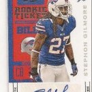 Stephon Gilmore NFL Buffalo Bills Contenders RC Ticket Auto rookie football card