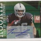 Taiwan Jones /499 NFL Oakland Raiders Donruss Elite Auto rookie football card