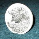 Scrimshaw Decor Disk w/Roaring Bear (SS013)