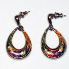 Teardrop Dangling Earrings (MS006)