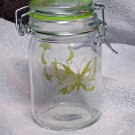Nug Jug With Green Butterfly Etching (EG004)