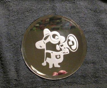 Small Round Mirror With Minion Design (EG022)