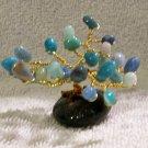 Tiny Stone Tree, Blue and Green (MC001)