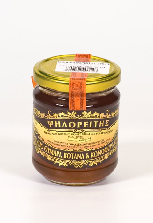 GREEK Cretan pure Thyme Honey from Psiloritis Mountain crete 250gr