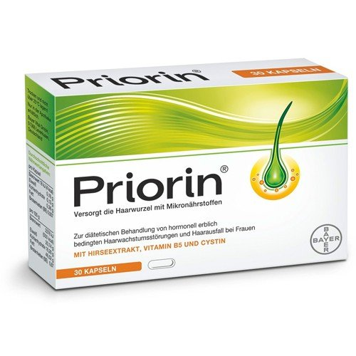 PRIORIN 60 Capsules for Hair Growth/Rregrowth Treatment / Anti-Hair Loss / For Strong&Healthty Hair