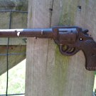 Rustic Western Country Cowboy Revolver Hand Gun Pistol Hanging Key Hook Hanger Six Shooter