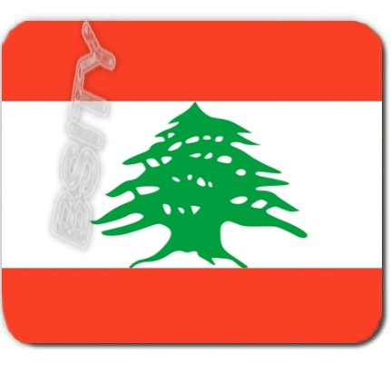 LEBANON Lebanese Republic FLAG Mousepad MOUSE PAD COLOR