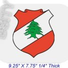 LEBANON Lebanese Republic COAT ARMS FLAG Mousepad MOUSE PAD COLOR