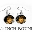 DRAKE BELL PHOTO FISH HOOK CHARM Earrings