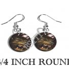 WEREWOLF FANTASY MYTHICAL PHOTO FISH HOOK CHARM Earrings