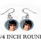 ZAC EFRON PHOTO FISH HOOK CHARM Earrings