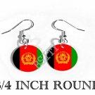 AFGHANISTAN AFGHANI Flag FISH HOOK CHARM Earrings