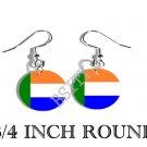AFRIKANEER Vryheidsvlag Flag FISH HOOK CHARM Earrings