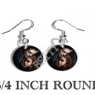 BELLA EDWARD TWILIGHT PHOTO FISH HOOK CHARM Earrings