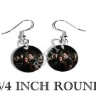 GROUP TWILIGHT PHOTO FISH HOOK CHARM Earrings