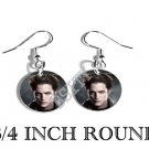 EDWARD TWILIGHT PHOTO FISH HOOK CHARM Earrings