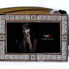 MARYANN FORRESTER PHOTO TRUE BLOOD BLING ICED OUT CZ SILVER BELT BUCKLE
