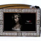 SOOKIE STACKHOUSE PHOTO TRUE BLOOD BLING ICED OUT CZ SILVER BELT BUCKLE