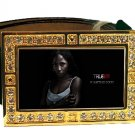 TARA PHOTO TRUE BLOOD BLING ICED OUT CZ GOLD BELT BUCKLE